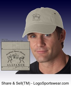 Anvil Adult Solid Low-Profile Twill Cap Design Zoom